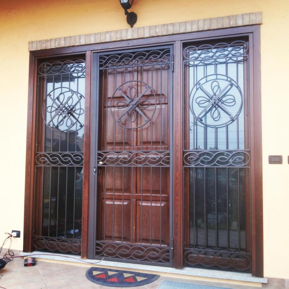 Inferriate blindate - Inferriata porta ...